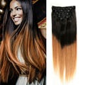 Ali Beauty Human Hair Extensions Clip In Brazilian Virgin Hair Full Head Clip On Human Tic Tac Haar Clip Ins Black Friday Deals