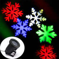 Lámparas de Proyector láser znuo nieve LED etapa luz copos de nieve Navidad luz láser jardín paisaje lámpara Halloween luz al aire libre