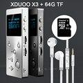 XDUOO X3 Профессиональных Lossless музыка MP3 HIFI Музыкальный Плеер с HD Экран OLED Поддержка APE/FLAC/ALAC/WAV/WMA/OGG/MP3-2016 НОВЫЙ