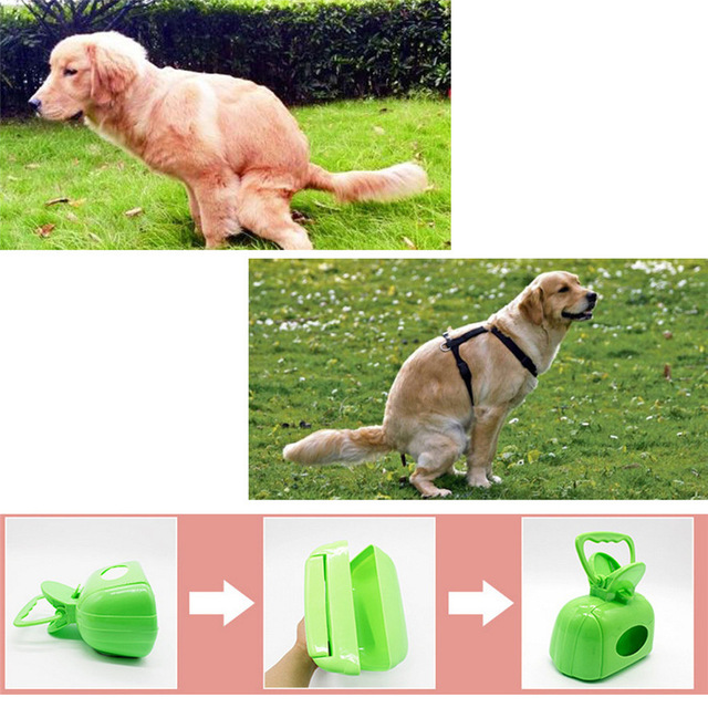 Lovely Pet 1 Pc Handle Jaw Poop Scoop Clean Pooper Scooper Pick Up Pool Dog Cat