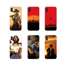Red Dead Redemption Custom Cell Phone Case Cover For Sony Xperia Z Z1 Z2 Z3 Z5 compact M2 M4 M5 C4 E3 T3 XA Huawei Mate 7 8 Y3II(China)