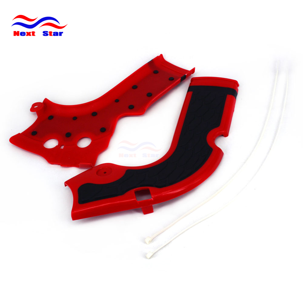Plastic Cover Side Frame Guard Protector For Honda CRF250R CRF 250R 14-16 <font><b>CRF450R</b></font> 2013 2014 2015 <font><b>2016</b></font> image