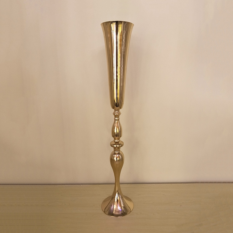 88cm Tall Wedding Metal Flower Vase Rustic Wedding Decoration Table