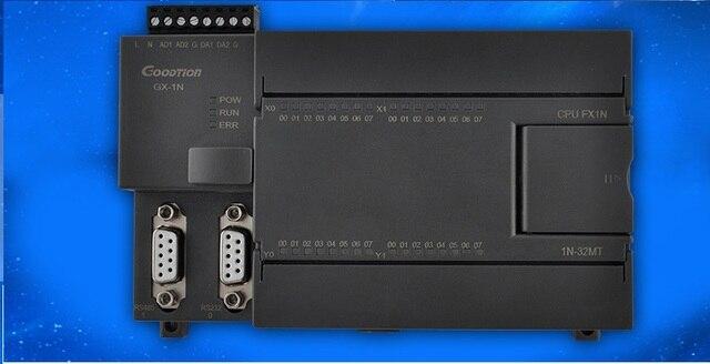 FX1N FX2N 20/24/28/32/40 MR MT 2AD 2DA PLC контроллер с Чехол, RS232 RS485 Modbus RTU для Mitsubishi GX, можно добавить функции