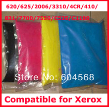 High quality color toner powder compatible for Xerox 620/625/2006/3310//410/831/7700/7550/C525/C1100 Free Shipping
