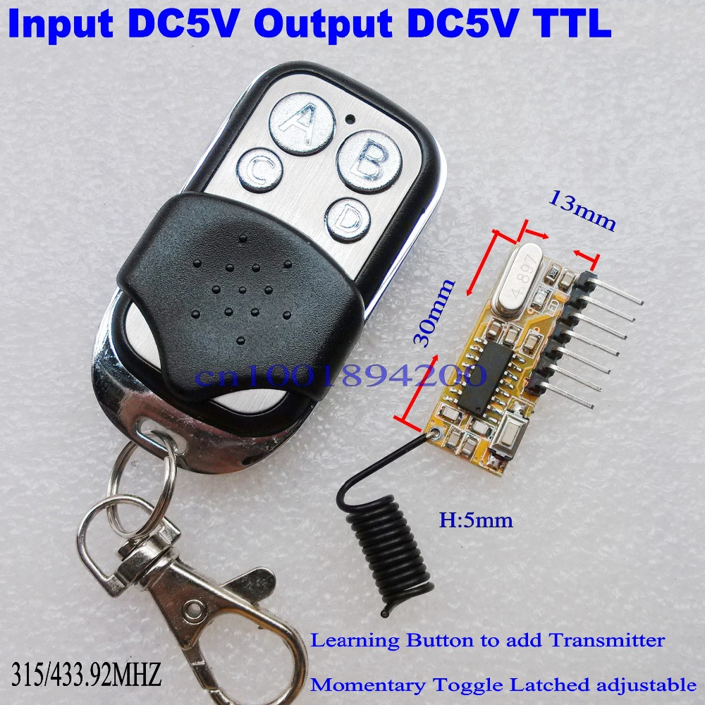 best top 10 transmitter and receiver 433mhz 4ch ideas and