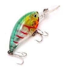 (OOTDTY)57mm Bass Fishing Lures Crank Bait Tackle Swim Bait Fishing Hard Fish Lure  APR20_17