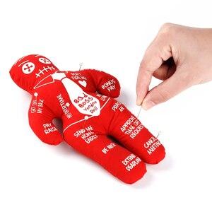 Image 4 - Mealivos poupée anti stress Voodoo, poupée atténuante stress, meilleure nouveauté, cadeau pour échange déléphant rose
