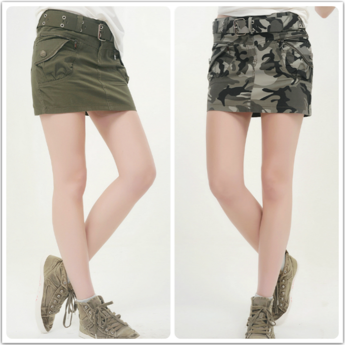 Compare Prices on Green Denim Skirt- Online Shopping/Buy Low Price ...