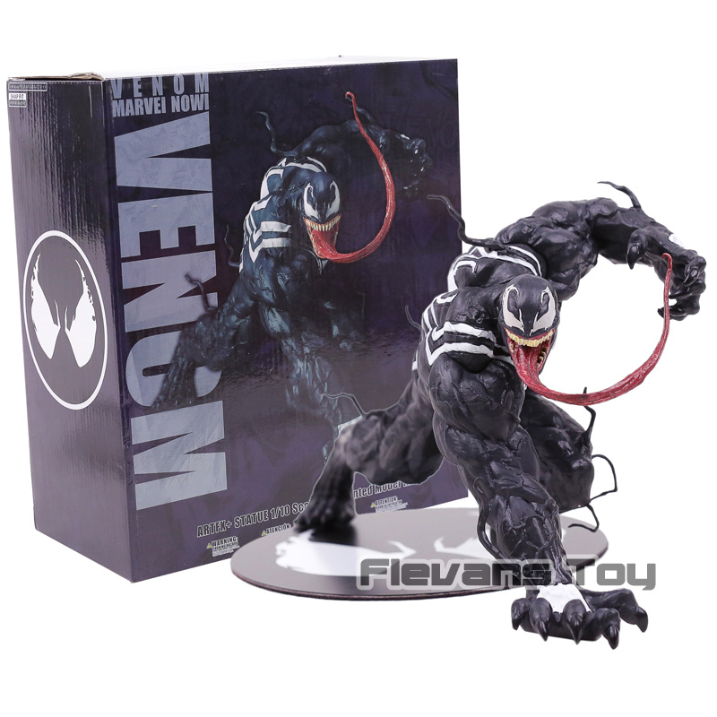 MARVEL NOW! Venom ARTFX + STATUE 1/10 Scale Pre-Painted Figure Collectible Model Toy final fantasy x 2 artfx 1 6 scale soft vinyl statue figure yuna unopened new