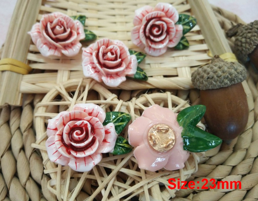 New style 10 pieces Metal gold foot Flower jacket buttons shirt Sweater button Decorations accessories 19