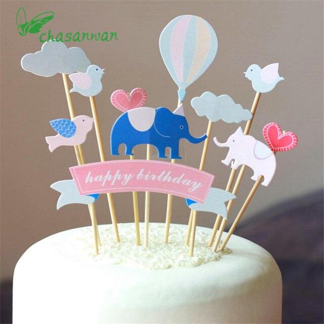 1 Satz Geburtstag Party Dekorationen Kinder Kuchen Dekoration