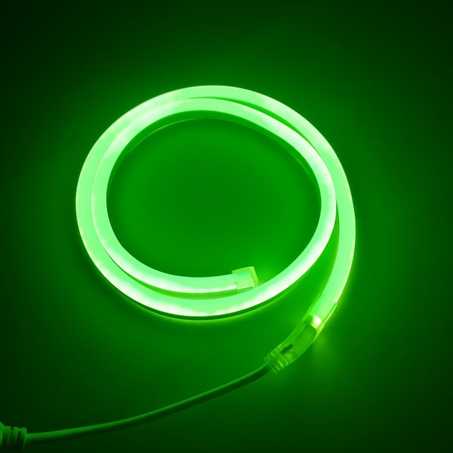 Metros color verde mini neon flex unids iluminaci led tubo de jpg 640x640 Color  verde neon e6366f48543