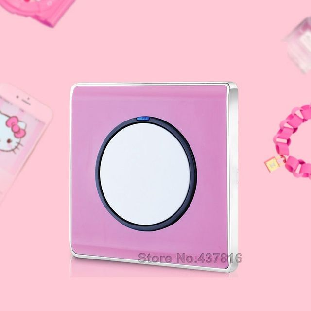 High quality colorful pink click switch1gang 1way 2way led high quality colorful pink click switch1gang 1way 2way led nightlight push button mozeypictures Choice Image