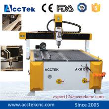 Small size furniture woodworking machine AKG1313 Acctek New model Vacuum table cnc machine with 2.2kw spindle motor