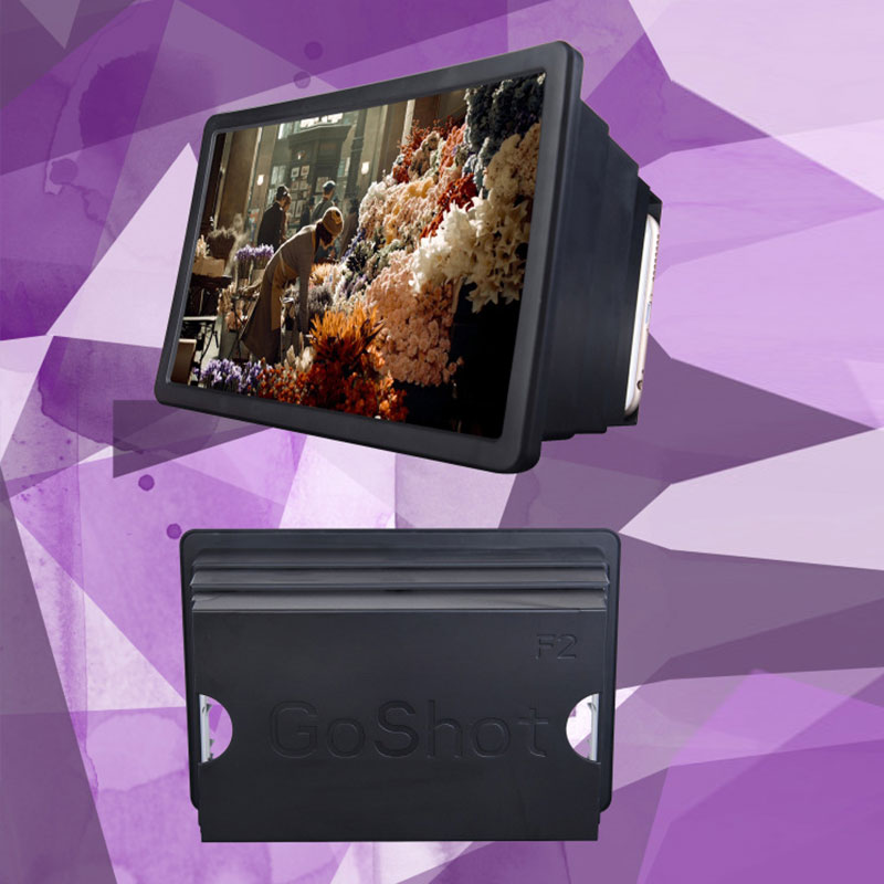 HTB1NMa2PpXXXXXHaXXXq6xXFXXXt - Mobile Phone Video Screen Magnifier Amplifier Expander Stand Holder for 3D Movie Display PTC 149