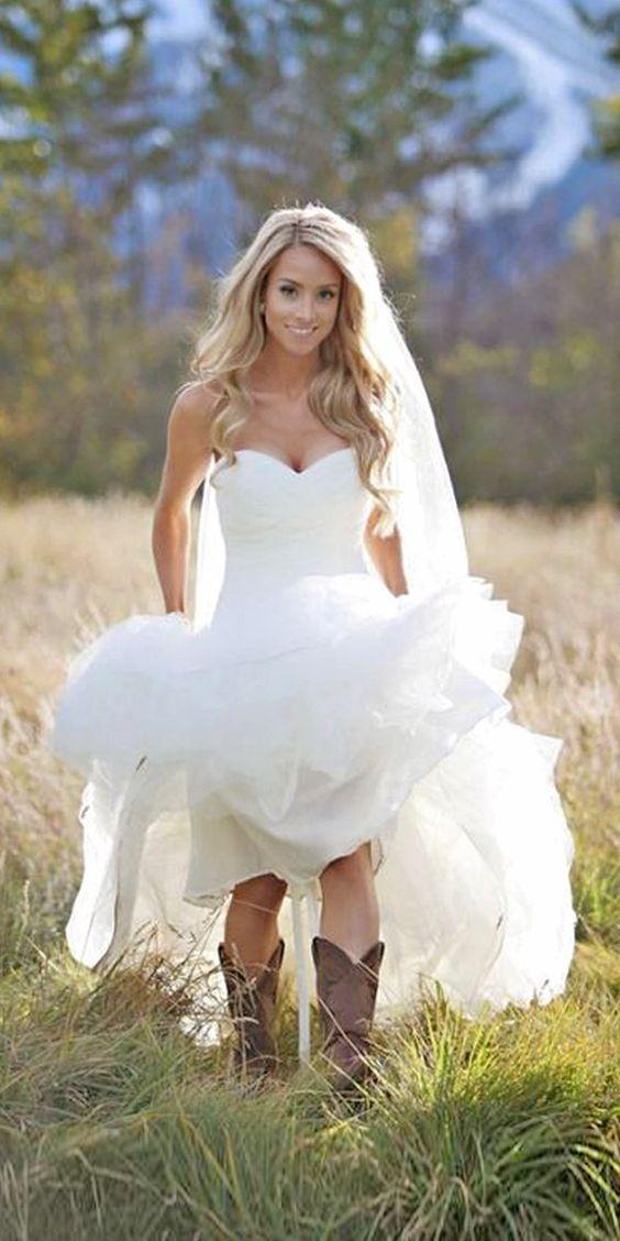 Online Get Cheap Short Rustic Country Wedding Dresses -Aliexpress ...