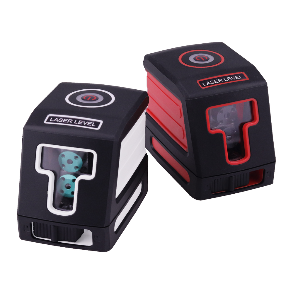 Borbede red and green automatic laser level, bracket, horizontal, vertical, cross measurement, indoor and outdoor measurements
