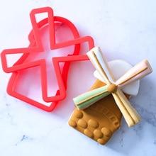 2019 New Windmill Cookie Cutter Mold Plastic Fan Fondant Cake Decorating Tools sugarcraft