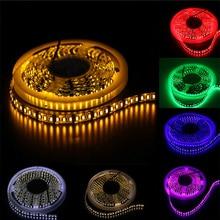 White/Warm white/Blue/Green/Red/Yellow DC 12V/24V 3528 Led Strip Light 5m 600leds Flexible Lamp Ribbon Tape Home Decoration