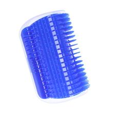 Cat Self Groomer Hair Removal Brush Comb Cat Hair Shedding Trimming Cat Massage Tool with Catnip for Dogs Cats Grooming Supplies