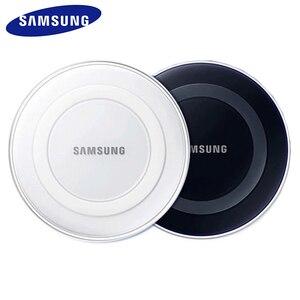 Image 1 - Cargador inalámbrico QI de 5V/2A con panel de carga con cable micro usb para Samsung Galaxy S7 S6 EDGE S8 S9 S10 Plus, para Iphone 8 X XS MAX XR