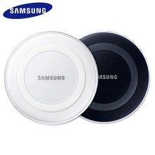 Carregador sem fio samsung 5v/2a qi, com cabo micro usb, para samsung galazy s7, s6, edge, s8 s9 s10 plus para iphone 8 x xs max xr