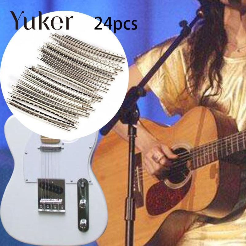 Guitar Parts & Accessories Electric Guitar Fingerboard Parts Copper Fret Wire Line Width 2.2mm 24frets