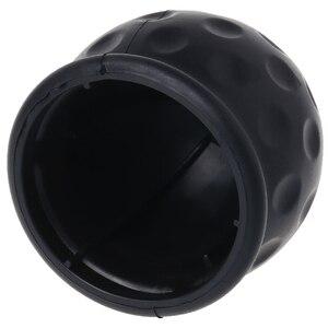 Image 2 - Universal 50mm Tow Bar Ball Abdeckung Kappe Abschleppen Hitch Cara