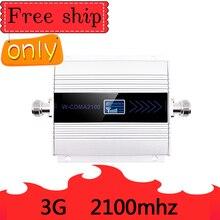 Vente chaude Gain 60dB 3G Ripetitore 2100MHz répéteur LCD WCDMA 2100 MHZ amplificateur de Signal Mobile amplificateur de téléphone portable