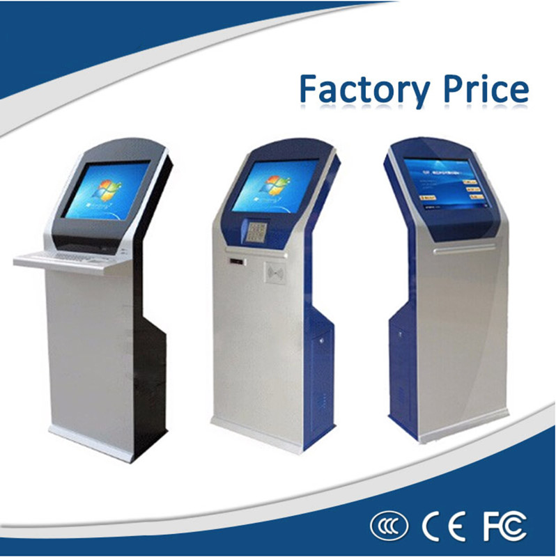 19 Inch PC IR Touch Lcd Kiosk With Thermal Printer And NFC