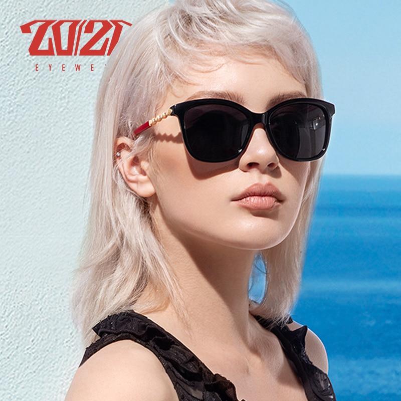 20/20 Marke Design Polarisierte Sonnenbrille Frauen Gradienten Objektiv Weibliche Retro Sonnenbrille Shades Brillen Oculos Feminino Pl389