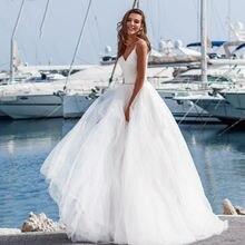 Eightree/шикарные свадебные платья с v образным вырезом винтажная