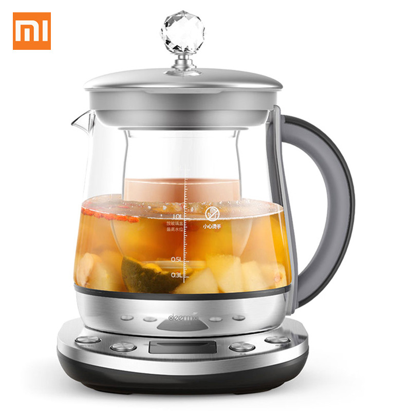 Xiaomi 1.5L Multifunction Kattle Deerma DEM – YS802 Multifunction Stainless Steel Electric Health Pot Kettle from Xiaomi Youpin