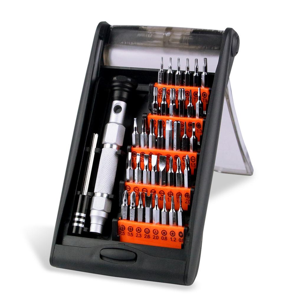 Купить JAKEMY JM-8151 38 в 1 Портативный Оборудование Ручной Инструмент Набор Прецизионных Отверток Многофункциональный Планшетный ПК Телефон Repair Tool Kit дешево