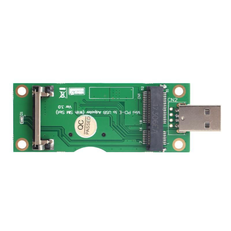 Mini PCI-E к USB адаптеру с слотом для sim-карты 8pin для модуля WWAN/LTE мини-карта для настольного ПК Поддержка sim-карты 6 pin/8 pin