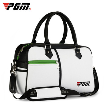 2018 PGM Golf Clothes bag golf bag litchi PU package Outdoor Golf Multi-function Super Capacity Waterproof sport bag Unisex