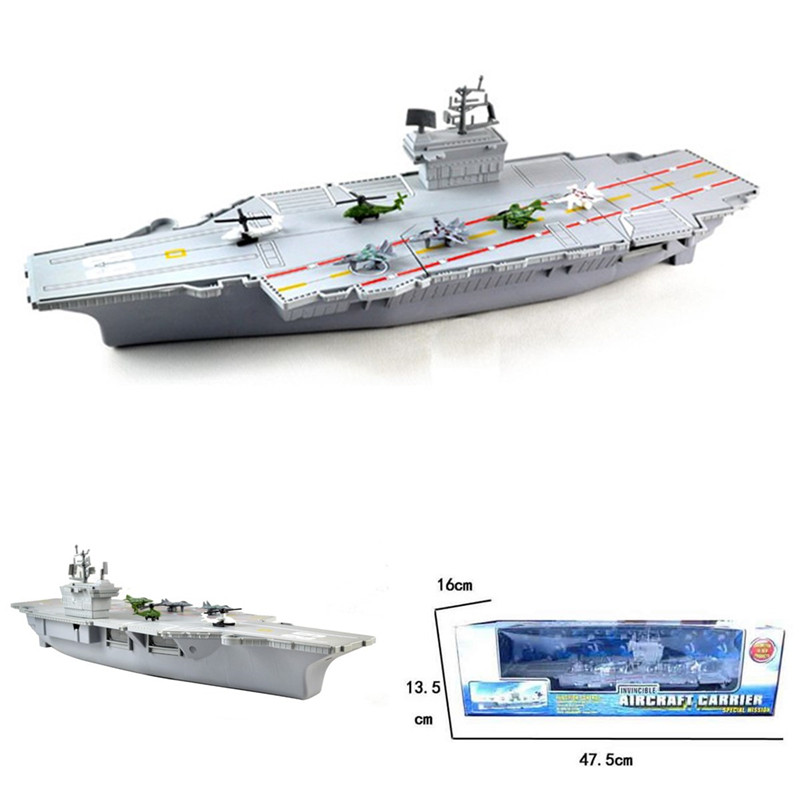 Simulation Aircraft Carrier Static Model With 6 Airplane Kids Children Gift Toys Hobbies Aircraft Carrier Model Military PlanesSimulation Aircraft Carrier Static Model With 6 Airplane Kids Children Gift Toys Hobbies Aircraft Carrier Model Military Planes