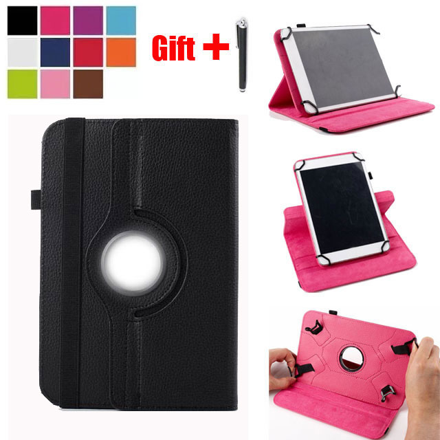 Universal Case for 9.7 inch 10 10.1 Inch Tablet Cover for iPad Pro Air Samsung Huawei Kindle 9.7 10 10.1 Tablet PC + Stylus