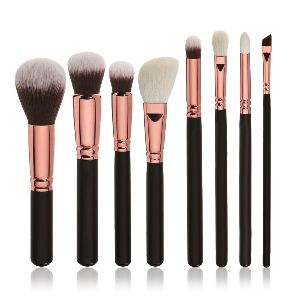 8pcs beauty Cosmetic Makeup Brush Eye Shadow Brushes Set Kit Braided bag set brush makeup brushes set professional kit maquiagem 4 pcs golden professional makeup brushes waistline sculpting brush set cosmetic tool maquiagem accessories with original box