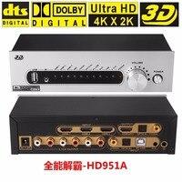 DTS AC3 5 1 Audio Decoder Digital Audio System Converter 4K 2K HDMI USB S PDIF