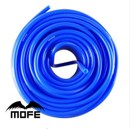 Universal 50m Blue Red Universal 4mm Auto Car Vacuum Silicone Hose Racing Line Pipe Tube Car