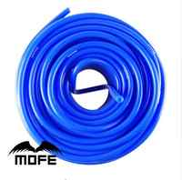 Universal 50m Blue/Red Universal 4mm Auto Car Vacuum Silicone Hose Racing Line Pipe Tube Car-styling