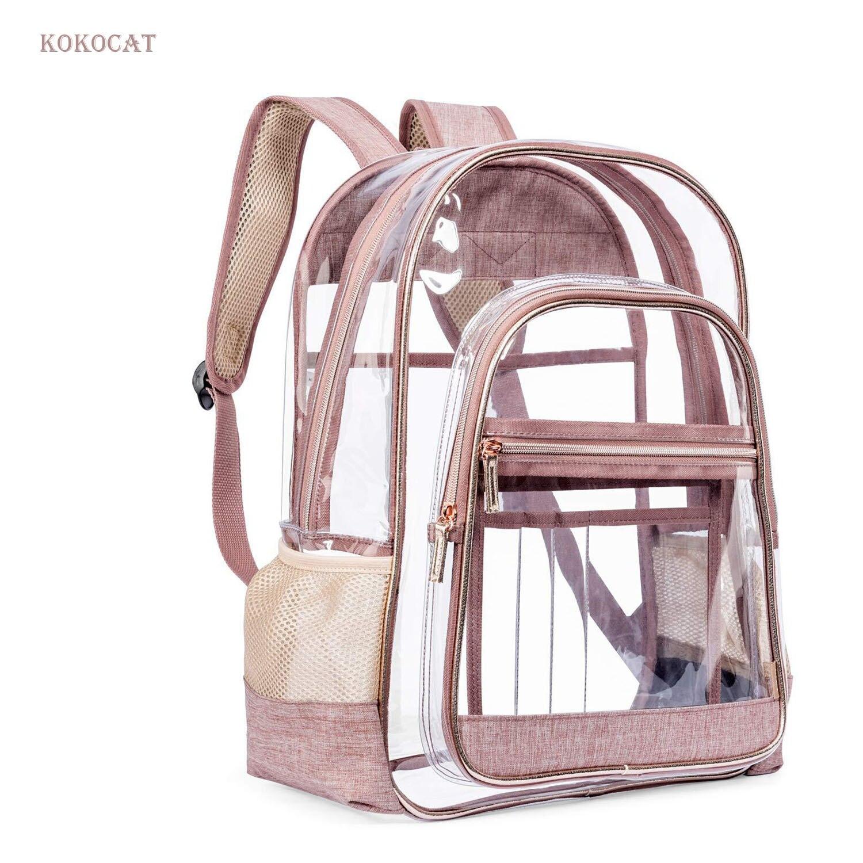 Women Mini Transparent Backpacks Clear PVC Zipper Student School Bag School Bags for Teenage Girls Travel Bag Mochila Mujer