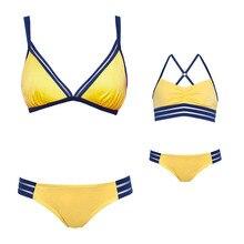 2 satz/paket Mutter Tochter Passenden Bikini Badeanzug Frauen Kind Mädchen Bademode Kleidung Mom Tochter Kleidung Familie Swimwears