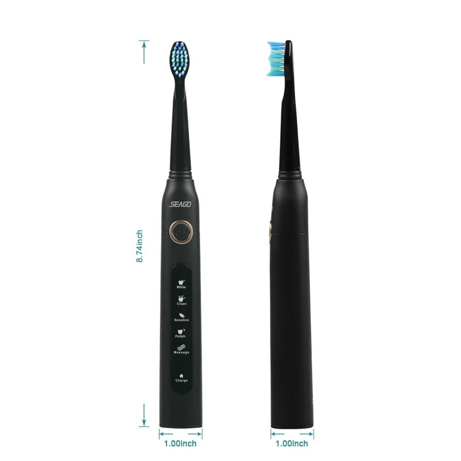 elétrica recarregável escova de dentes titular com