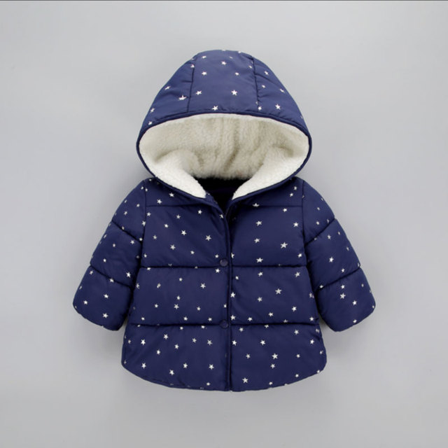 0e7003ec4 Winter little baby girls boys kids clothes outfits hooded thick ...