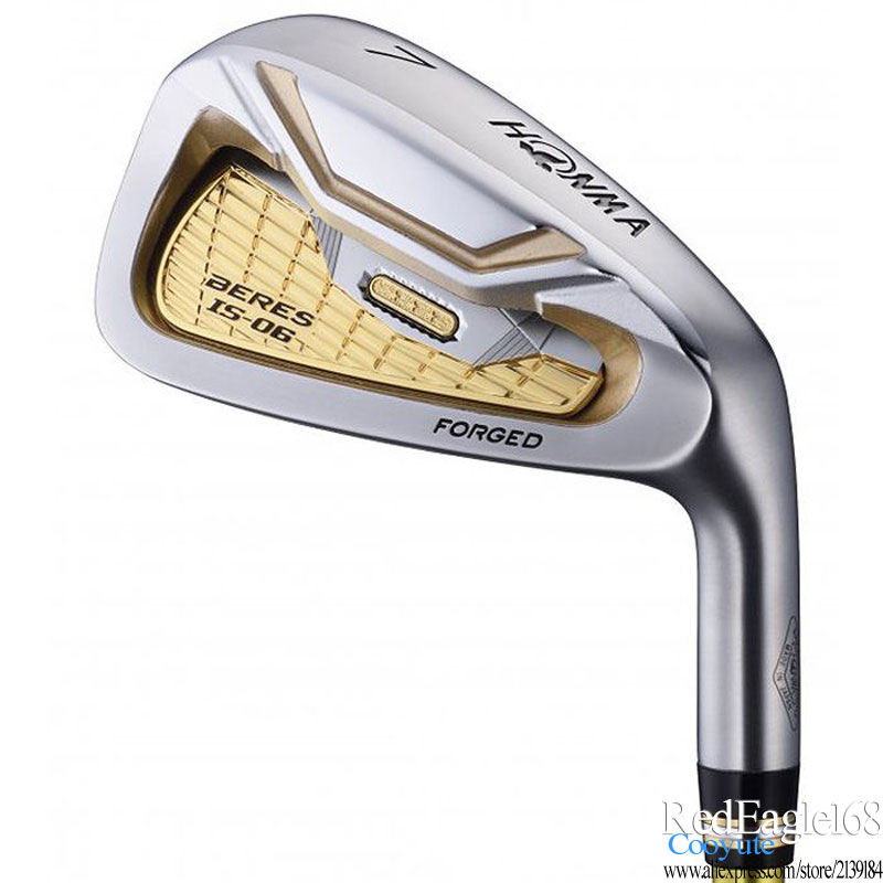 Cooyute New Golf Clubs HONMA S-06 3star Golf Irons 5-11.Aw.Sw S-06 Irons Clubs Graphite Shaft Or Steel Golf Shaft Free Shipping