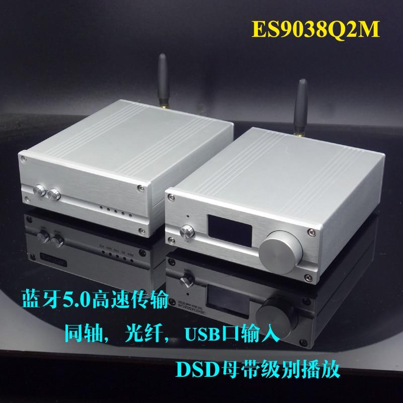 Breeze Audio 2019 New SU7 ES9038 Digital Audio Decoder DAC Supports Coaxial Fiber USB XMOS XU208 Bluetooth 5.0