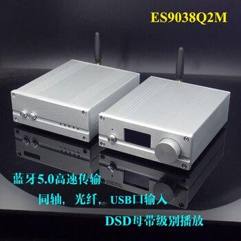 AK4490 JRC4580 DSD256 USB OTG DAC de audio externa tarjeta XMOS XU208 con  amplificador de